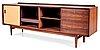 An arne vodder rosewood sideboard, manufactured by p olsen sibast, stenstrup, denmark, model 7a.