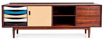3A. An Arne Vodder rosewood sideboard, manufactured by P Olsen Sibast, Stenstrup, Denmark, model 7A.