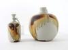 Vaser, 2 st, stengods, rolf palm, sign palm, mölle.