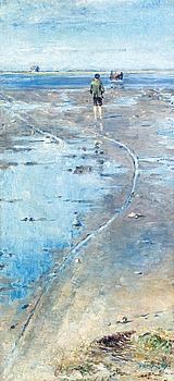 """106. Nils Kreuger, """"Vid vadet"""" (At the ford)."""