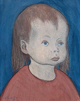 103. Ivar Arosenius, My little girl.