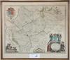 """Karta, kolorerad, anno 1630, kaerius, """"bohemia"""""""