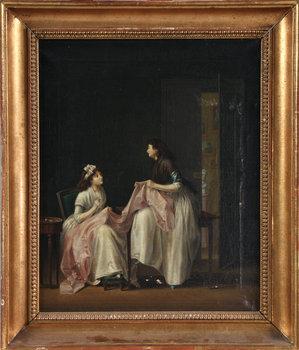 (klart) PEHR HILLESTRÖM, efter, olja på duk, 1800-talets första hälft.