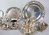 Parti nysilver, 9 delar, 1800 1900 tal