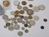 Parti silver samt mynt, 1900 tal