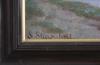 Stjernstedt, sophie. olja på duk, sign.
