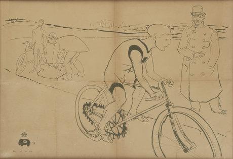 Henri de toulouse-lautrec, cycle michael.