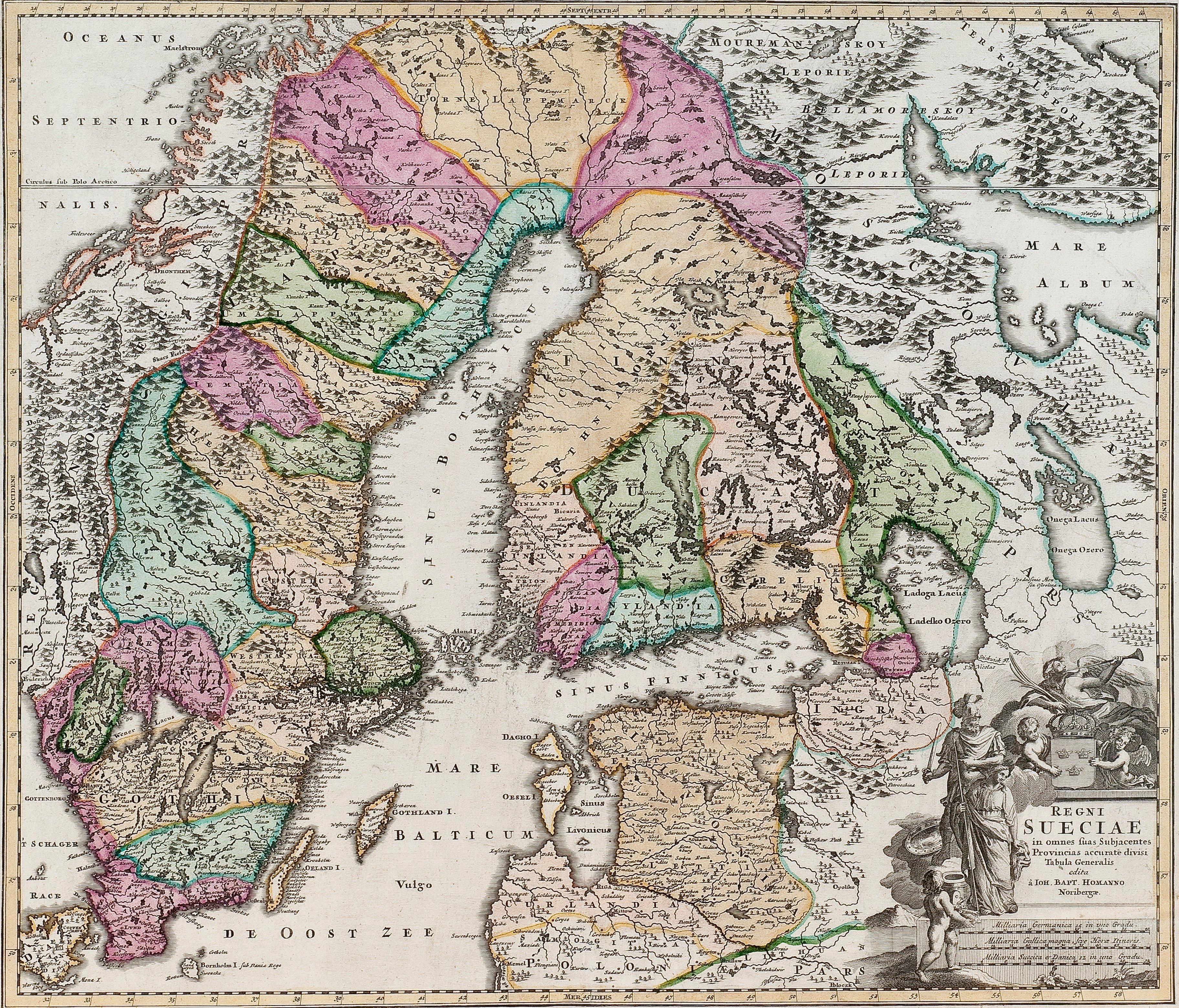 Ruotsin Kartta Bukowskis