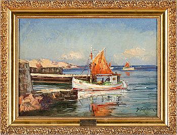 """217B. George Lapchine, """"Les Pêcheurs"""" (The fishermen)."""