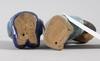 Figuriner, 2 st. stengods. lisa larson, gustavsberg.
