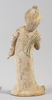Figurin/skulptur, lergods. kina.