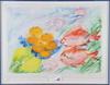 Linderholm, lena. färglitografi, sign med dedikation.