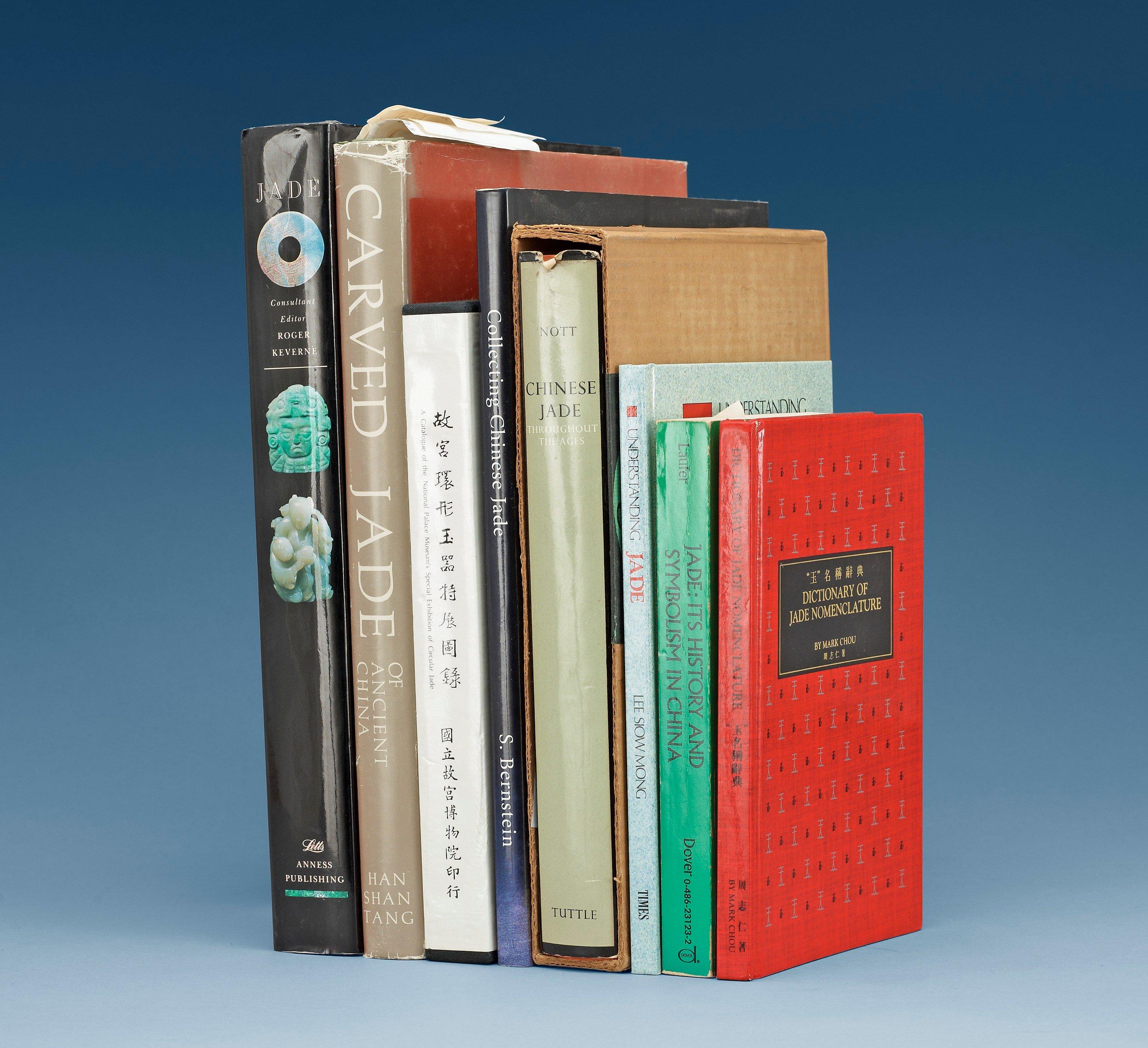Collection of eight books concerning jade 8 bukowskis 4855830 bukobject buycottarizona Images