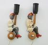 VÄgglampor, ett par, 1900-talets mitt.