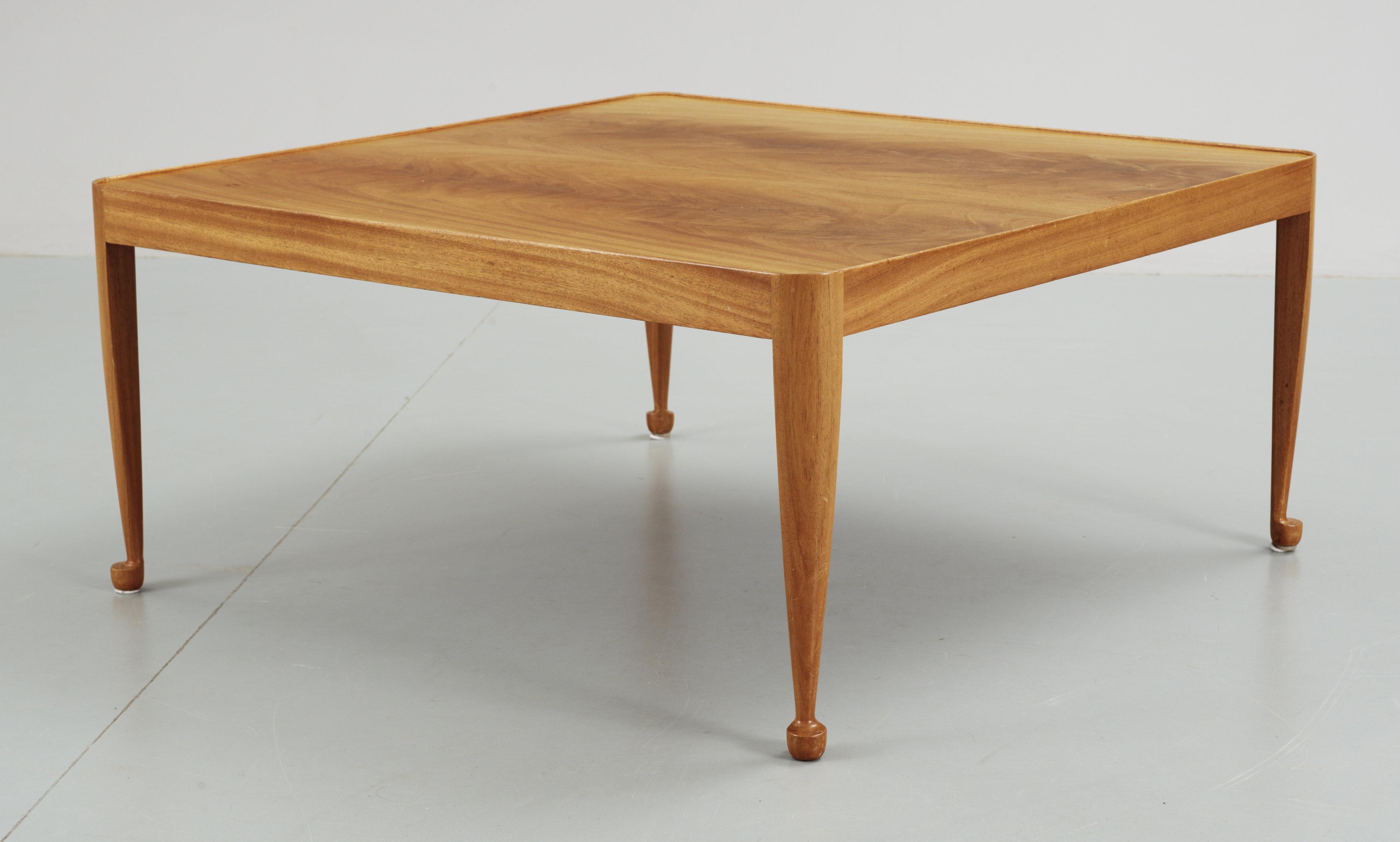 A josef frank mahogany sofa table svenskt tenn model 2073 bukowskis watchthetrailerfo