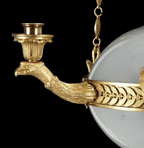 A hanging-lamp, 19/20 th century.