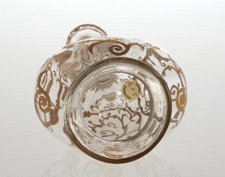 A glas decanter. presumably russia. 19/20 th century.