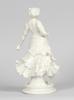 Figurin, porslin, wien, 1900-tal.