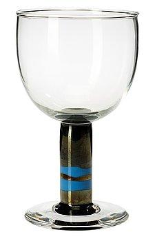 720. A Gunnar Cyrén glass goblet, Orrefors 1967.