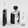 Parti parfymflaskor, glas, 3 st, 1900-tal.