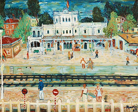 Carlos nadal, station by the sea.