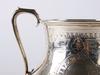 SkÅl med hÄnklar, silver, england, 1800-tal.
