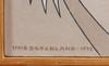 Brockland, uno, blandteknik, 2 st. sign o dat.
