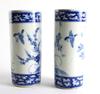 Vaser, 2+2, porslin, japan. 1900-tal.