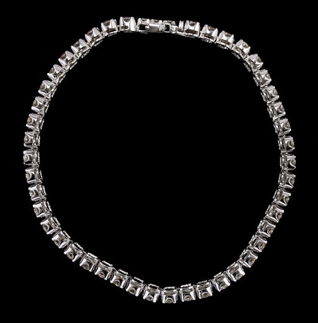 Bracelet, 47 brilliant cut diamonds, tot. 5.04 cts.