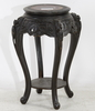 Piedestal, trä, orientalisk, 1900-tal.