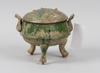 Tripod. keramik. kina, han-typ.
