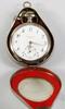 Parti klockor samt silverskedar, 4 delar, bla nils wendelius, uppsala 1800-tal.