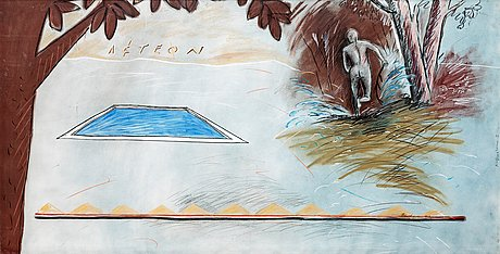 Jean-michel albérola, untitled.