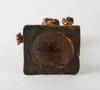 RÖkelsekar, figurin, 1+2, brons mm. 1900-tal.