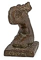 WÄINÖ AALTONEN, GRIEF. Sign. Antiqued bronz...