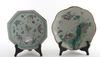 SkÅlfat, 2 st, porslin, kina, tidigt 1900-tal. diam 19-21.