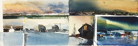 """Lars lerin, """"februaribrev från reykjavik iii""""."""