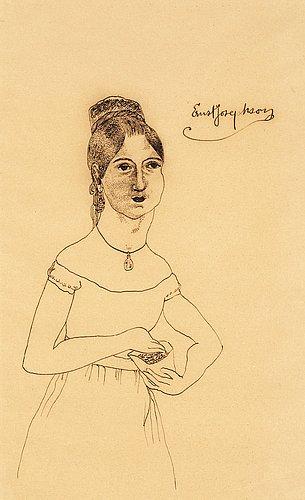 Ernst josephson, elegant lady.