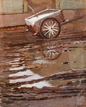 237. Akseli Gallen-Kallela, REFLECTIONS.