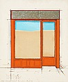 "CHRISTO, ""Orange Store Front (Project)"". Si..."