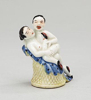 108. A 20th Century Chinese porcelaine figure.