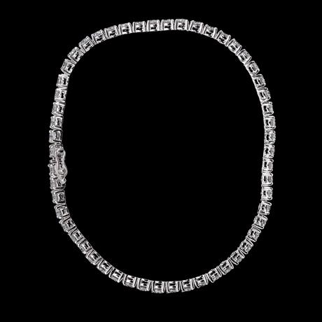 Bracelet, 54 brilliant cut diamonds, tot. 5.18 cts.
