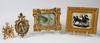 Parti objekt, 6 delar. bl a diorama.