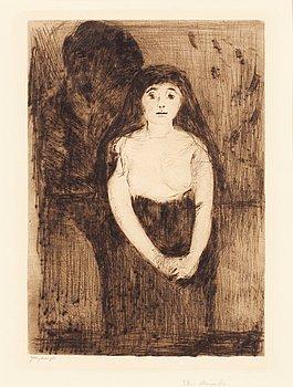 "155. Edvard Munch, ""Study of a Model""."