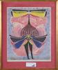 Svanberg, max walter. färglitografier, 2 st, sign o numr 30/100 resp 221/260.