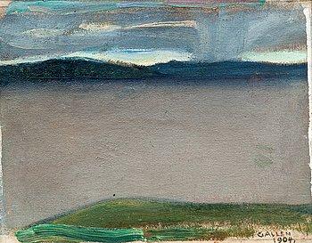 179. Akseli Gallen-Kallela, LANDSCAPE.