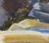 Dahlskog, ewald. akvarell, sign.