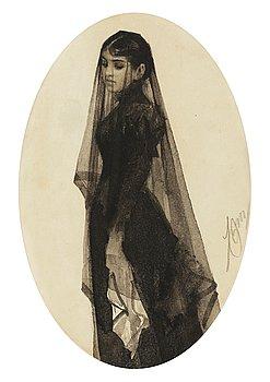 "12. Anders Zorn, ""The Widow""."