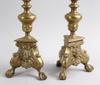 Ljusstakar, ett par, malm, barockstil, 1900-tal.