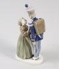 Figurin, porslin, kungl. dansk